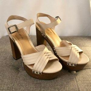 Platform Sandals - Indigo Rd. *Like New*